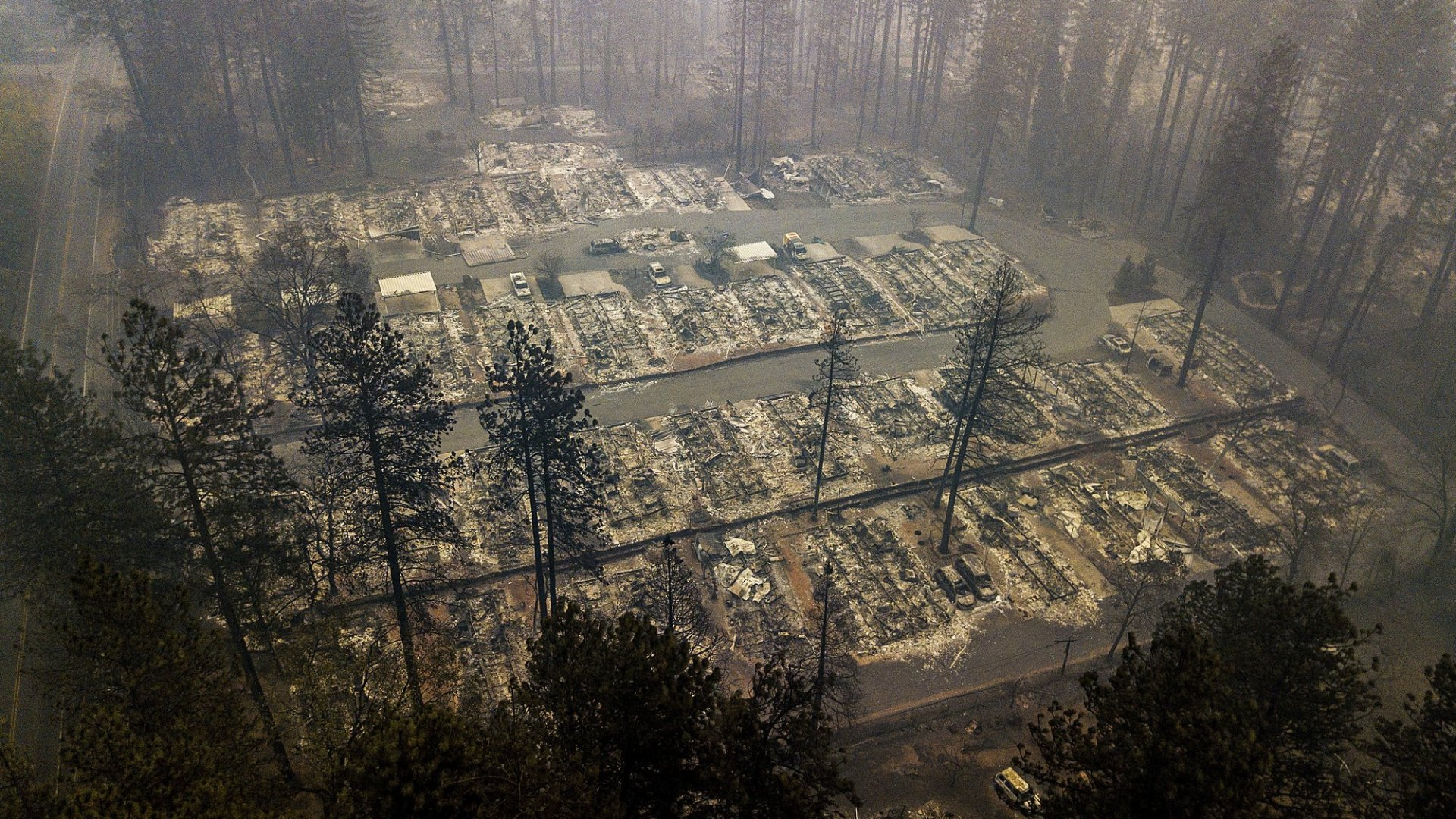 support camp fire victims - HD1920×1080