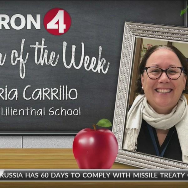 Teacher of the Week: Gloria Carrillo