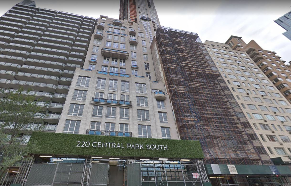 220 Central Park South NYC