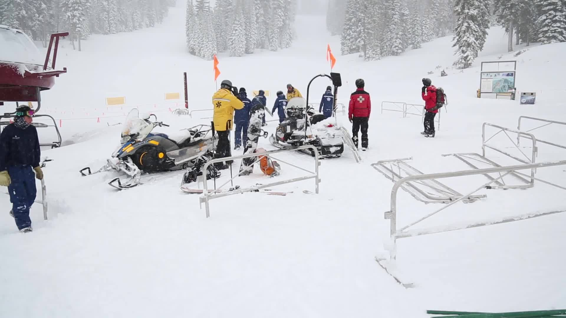 Weekend storm dumps 3 5 feet of fresh snow at Lake Tahoe resorts