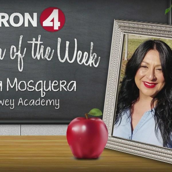 Teacher of the Week: Elina Mosquerra