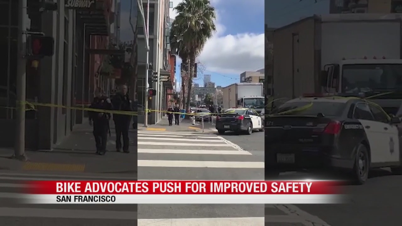 Bicycle advocates push for improved safety in San Francisco