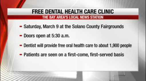 How to get free dental health care in Solano County this weekend