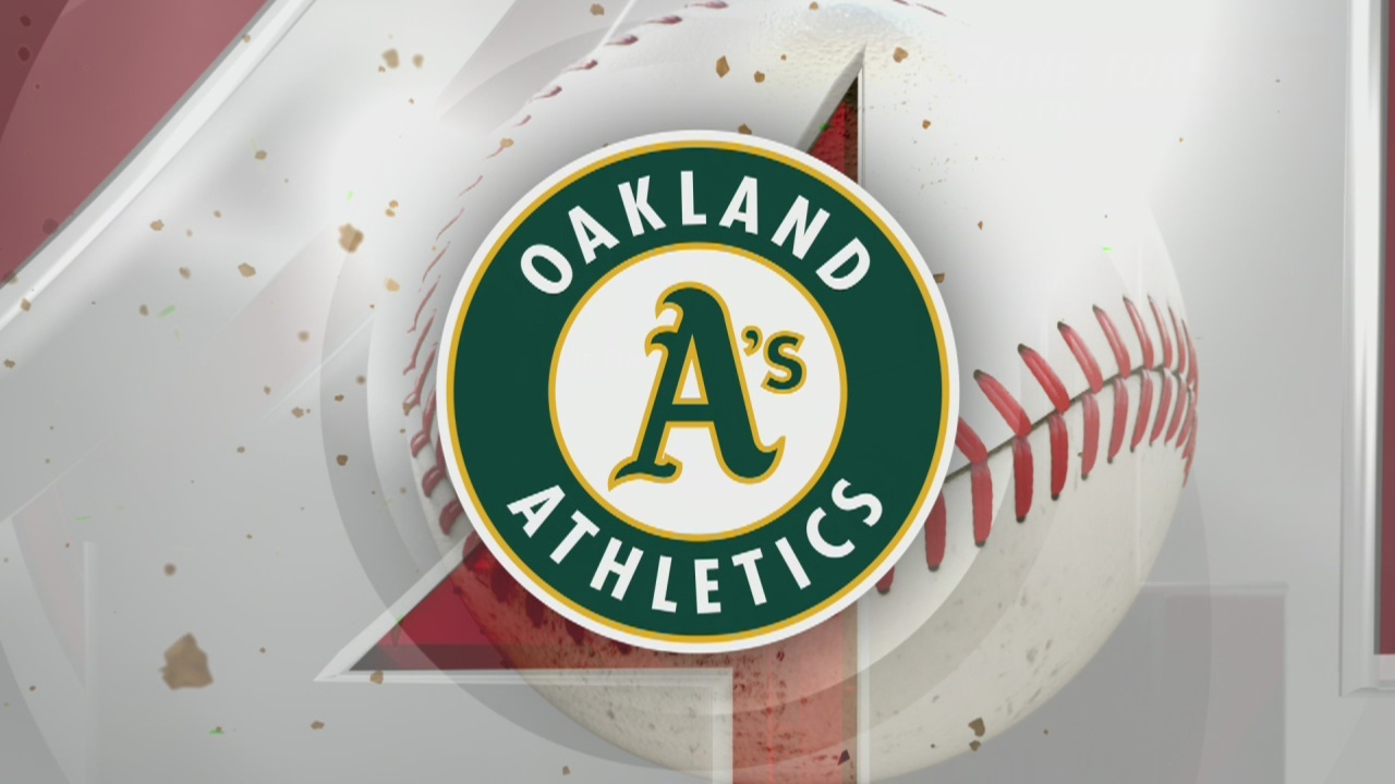 Oakland A's earn win against Angels in home opener