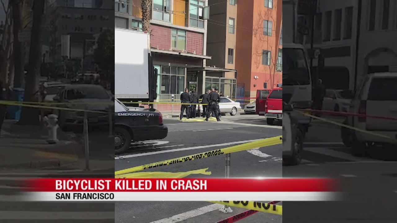 Leaders call for more protections after bicyclist died in SF crash
