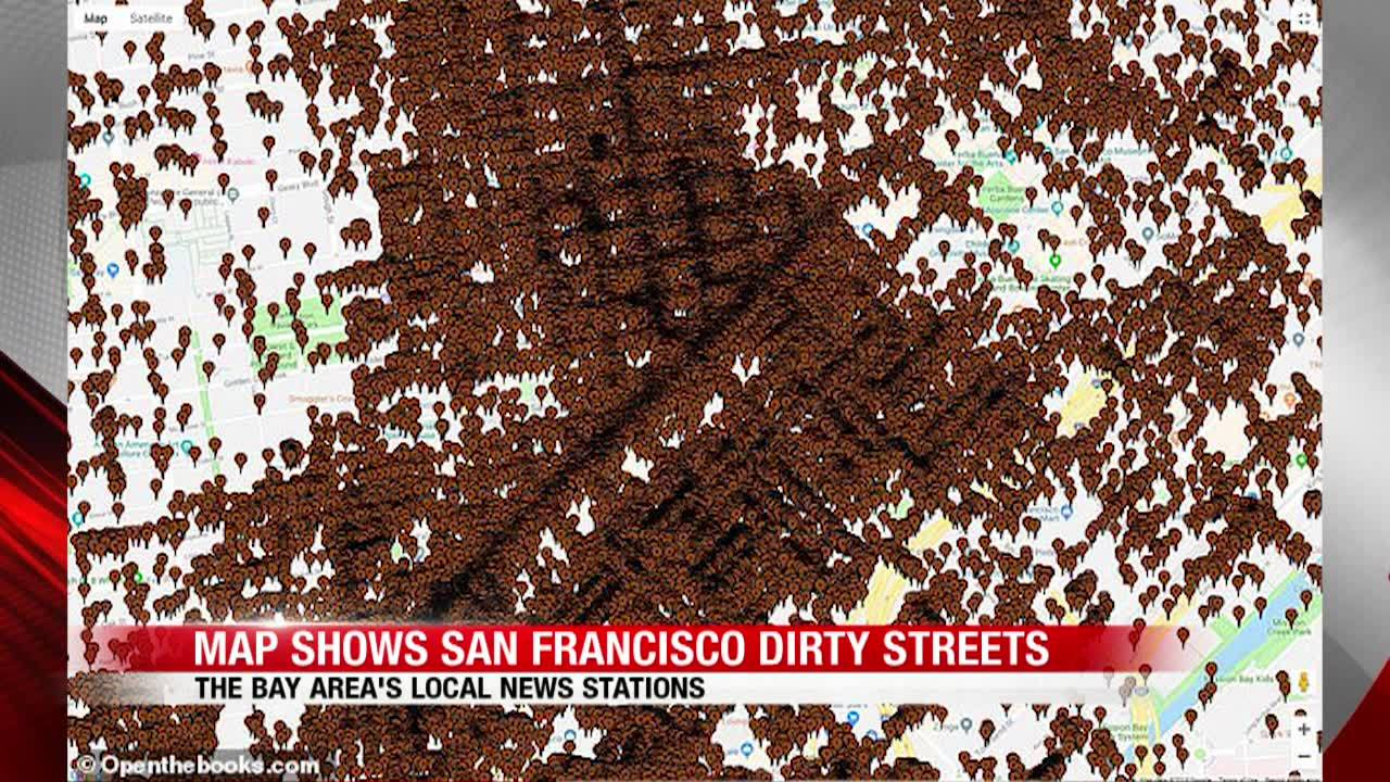 Map All Locations Where Human Waste Has Been Reported In San