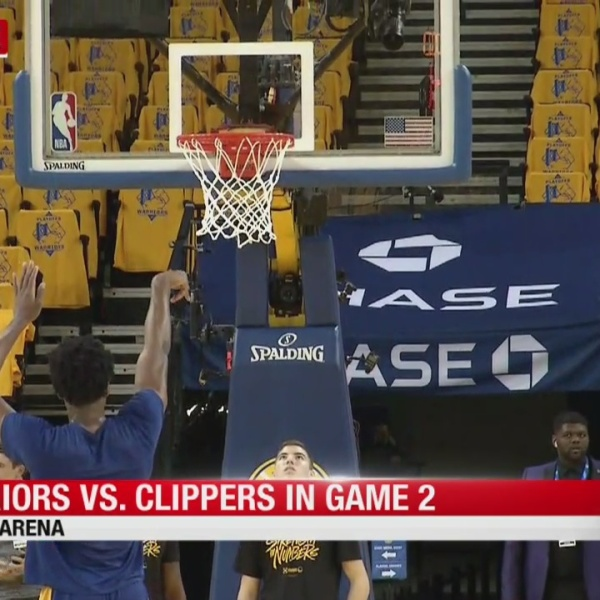 Warriors vs. Clippers in Game 2 of NBA playoffs