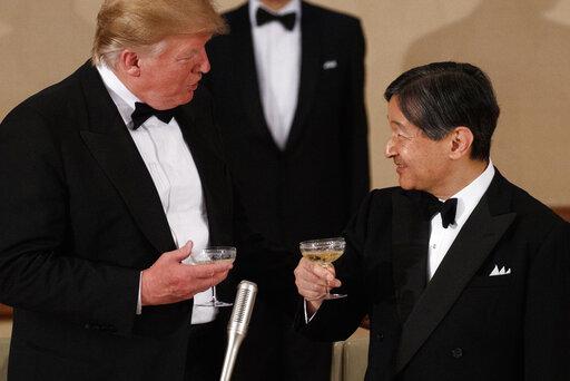Donald Trump, Naruhito
