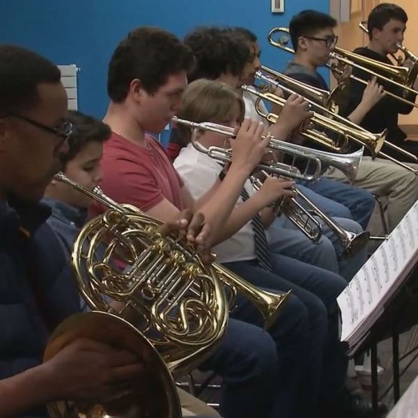 Bay Area's youth orchestra helping kids with more than just music