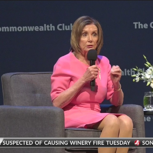 'Everybody wants justice': Pelosi talks impeachment at San Francisco event