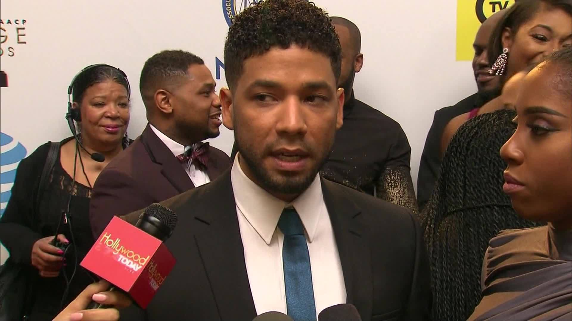 File: Empire's Jussie Smollet victim of racially-charged assault