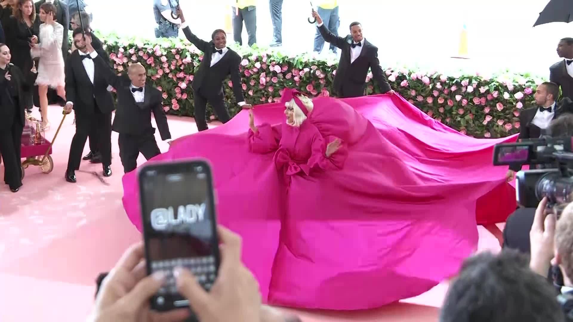 Met Gala: Lady Gaga changes dresses 3 times