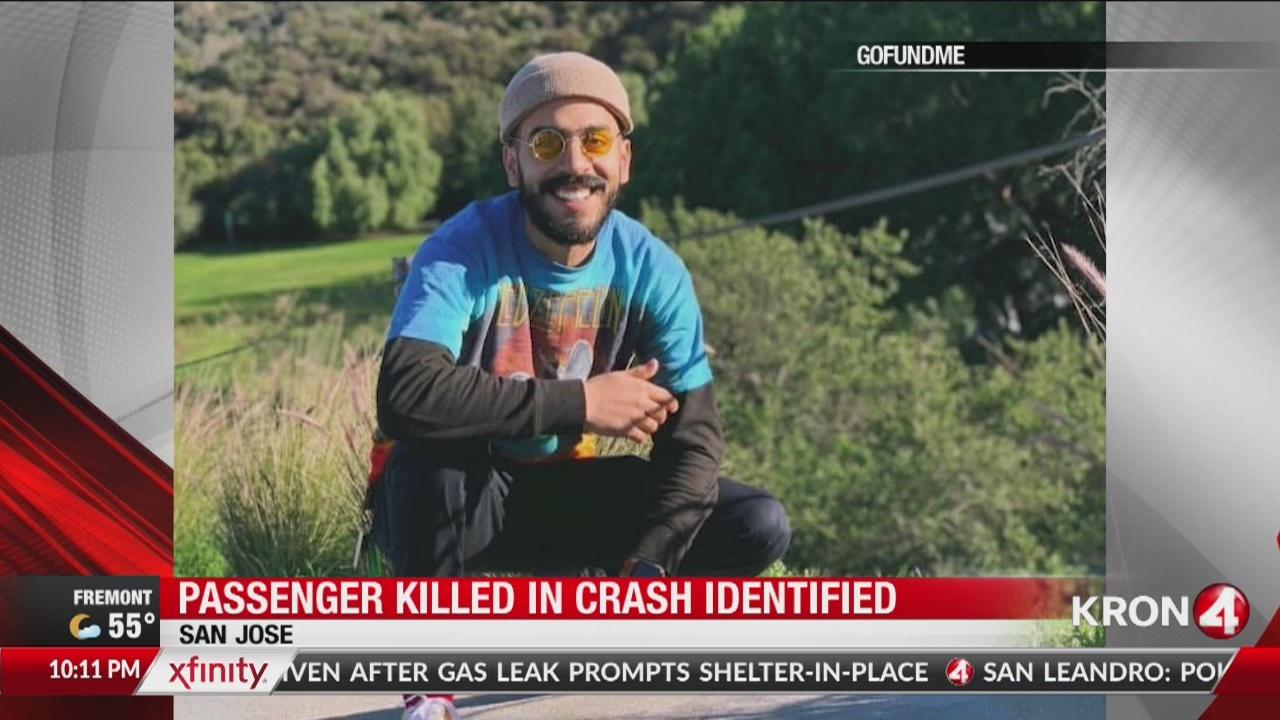 21-year-old passenger killed in crash on HWY 101 in San Jose identified