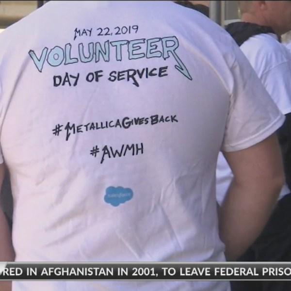 San Francisco-Marin Food Bank gets helping hand from Metallica
