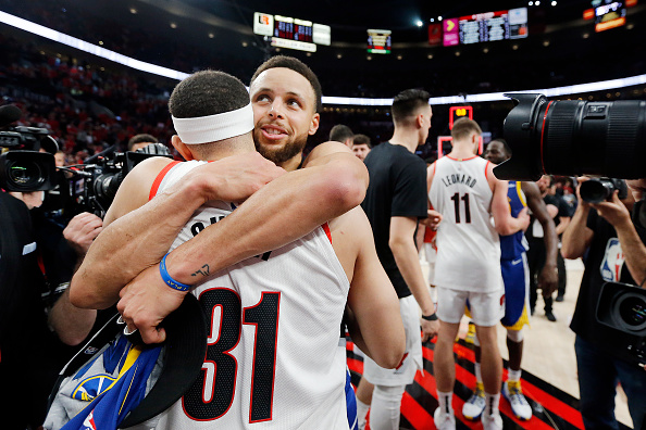 Here's Steph Curry's message to younger brother Seth after