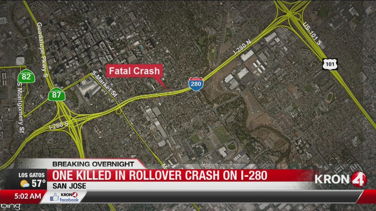 1 dead, 2 seriously injured in San Jose crash