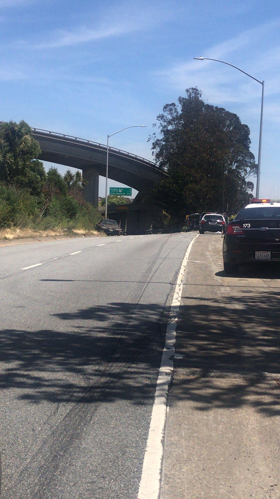 2 shot on I-280 in San Francisco
