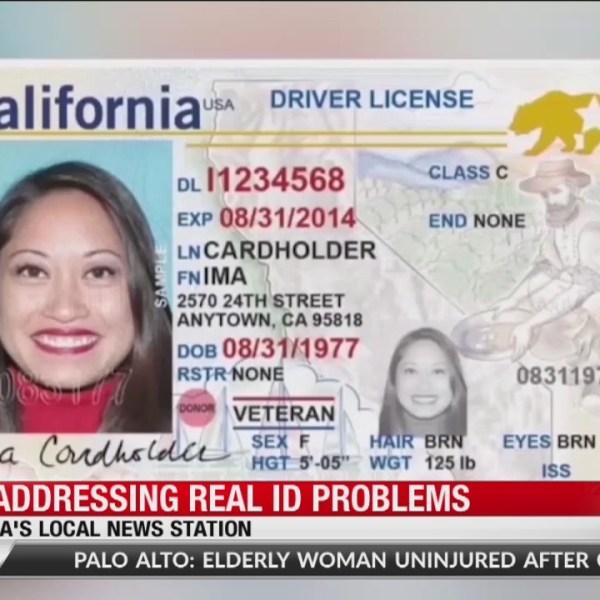 DMV addressing REAL ID problem