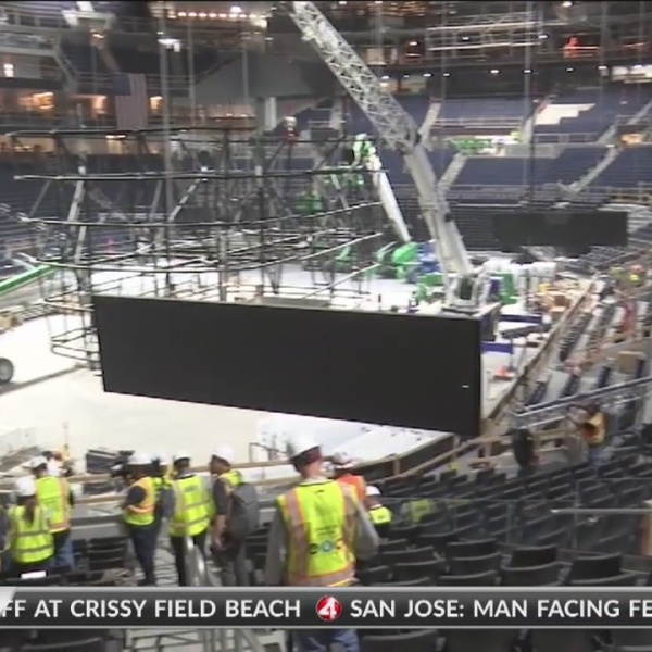 Final seat installed at Chase Center