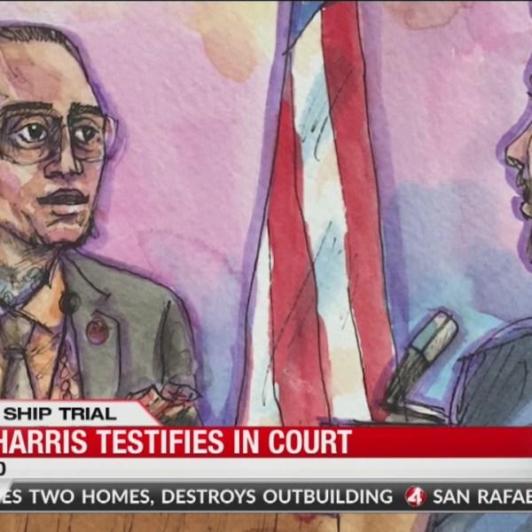 Ghost Ship Trial: Max Harris testifies in court