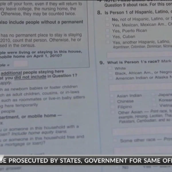 Lawmakers prepare of census question