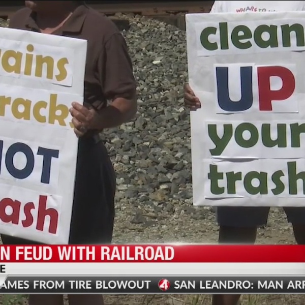Legal action looming over trains disturbing peace in San Jose