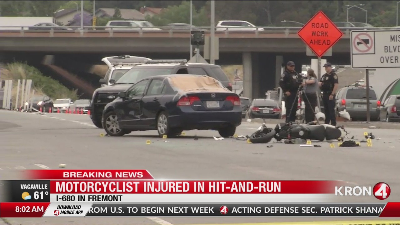 Motorcyclist killed in Fremont hit-and-run crash