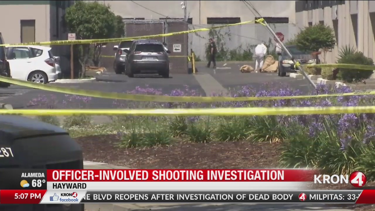 Officer-involved shooting in Hayward leads to chase ending in Oakland