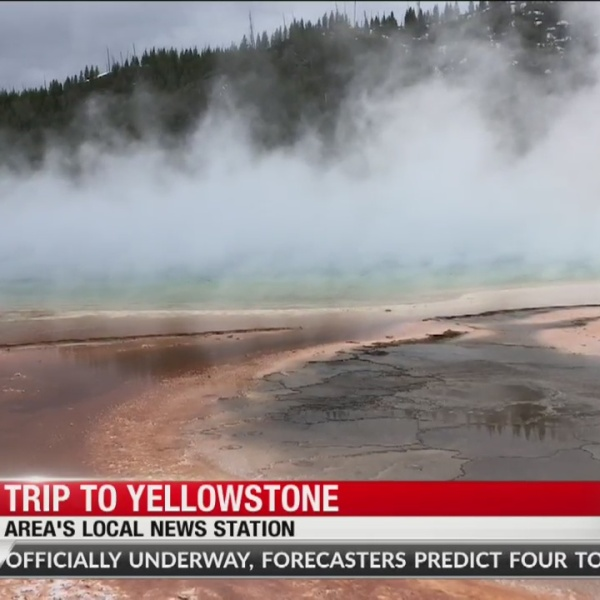 Road trip to Yellowstone