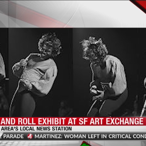 Rock and Roll exhibit at SF Art Exchange