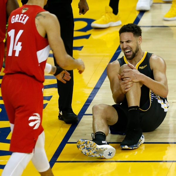 Curry reflects on Klay's injury