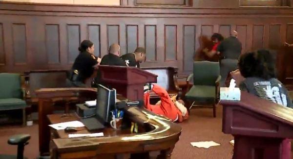 Cort Webber - Family of Murder Victim Attack Her Killer in Court
