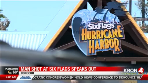 Man shot at Six Flags Hurricane Harbor speaks out   KRON4