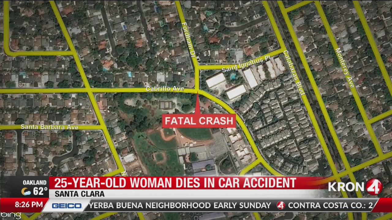 Woman killed, man critically injured in Santa Clara crash