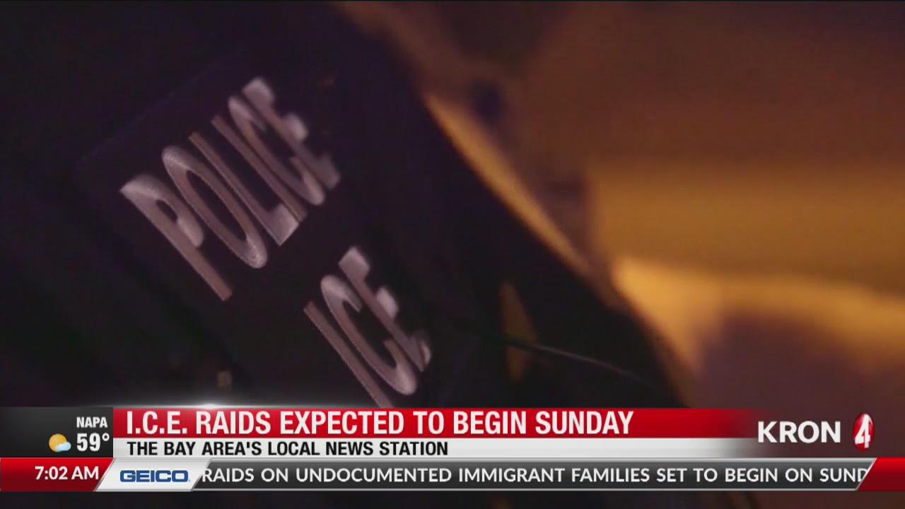 ICE raids expected to begin Sunday | KRON4