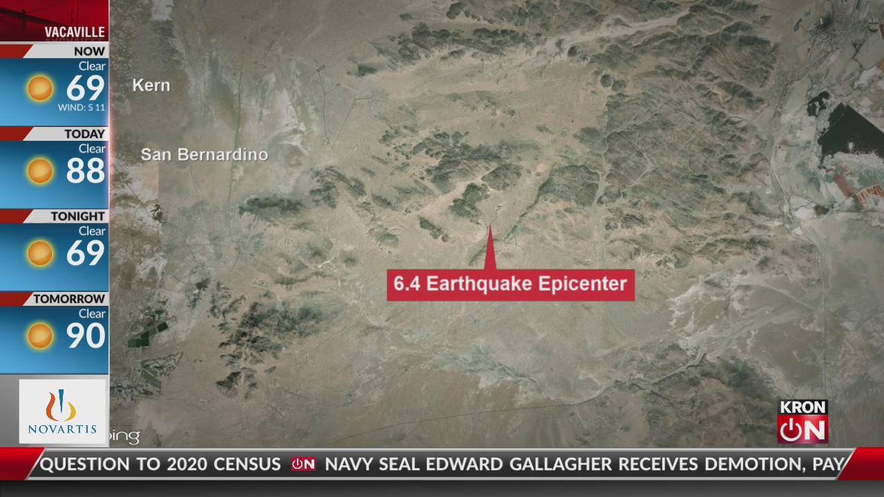 earthquake in california today 2020