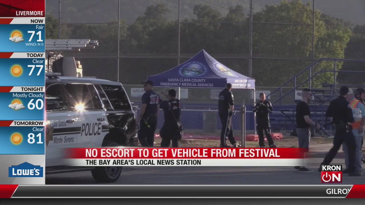 Garlic Festival parking lot reopens, public can retrieve
