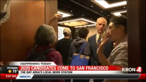 VIDEO: Chaos at Democratic National Convention meeting in