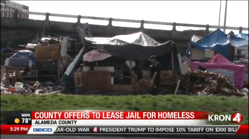 County leaders propose Oakland jail to house homeless