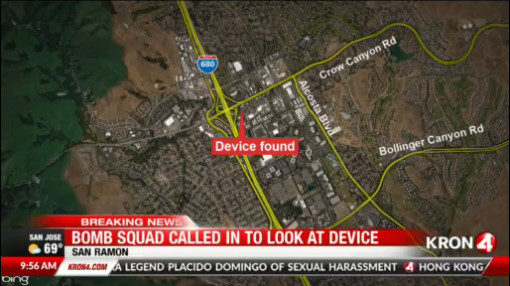 Suspicious device' in San Ramon deemed safe by authorities