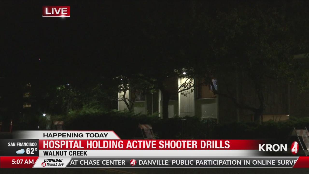 Walnut Creek hospital holding active shooter drills | KRON4