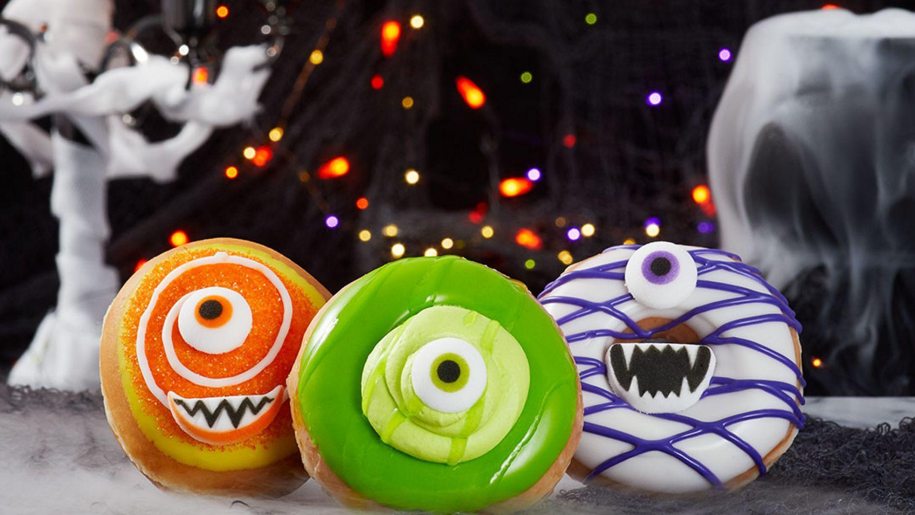 Krispy Kreme Halloween Donuts 2020 Krispy Kreme debuts Halloween themed doughnuts | KRON4