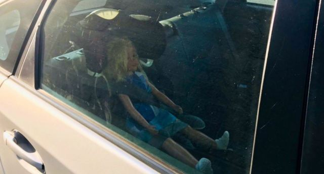 CHP busts Contra Costa County driver in carpool lane with doll in backseat