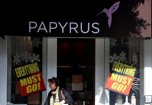 Papyrus closing all stores in coming weeks