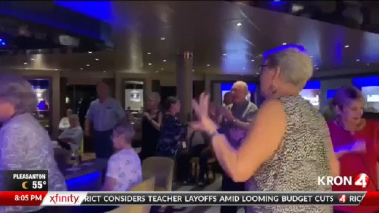 Passengers stuck on cruise ship due to coronavirus fears make the most of their time
