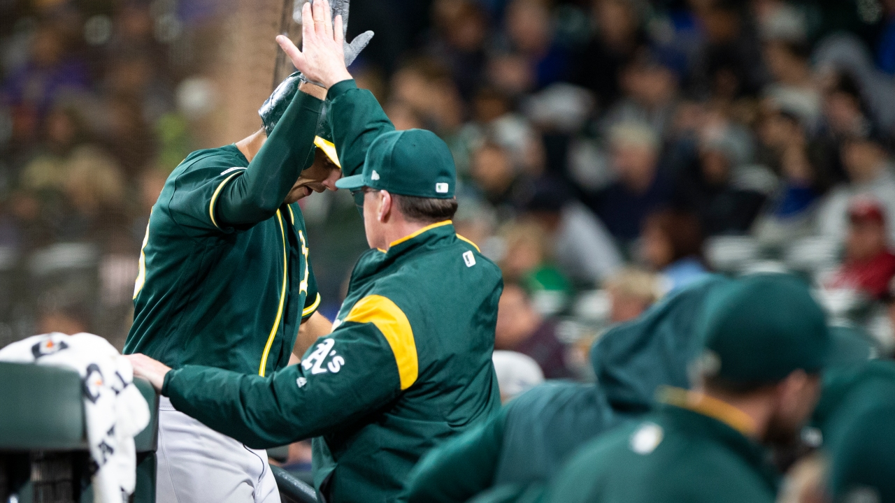 Oakland A's make their move from radio to A's Cast