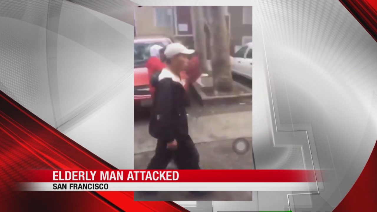 Investigation underway after video of elderly man being robbed, assaulted while collecting recyclables in San Francisco goes viral