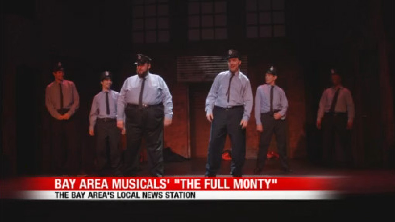 Tony-nominated musical, 'The Full Monty,' opens month-long run in San Francisco