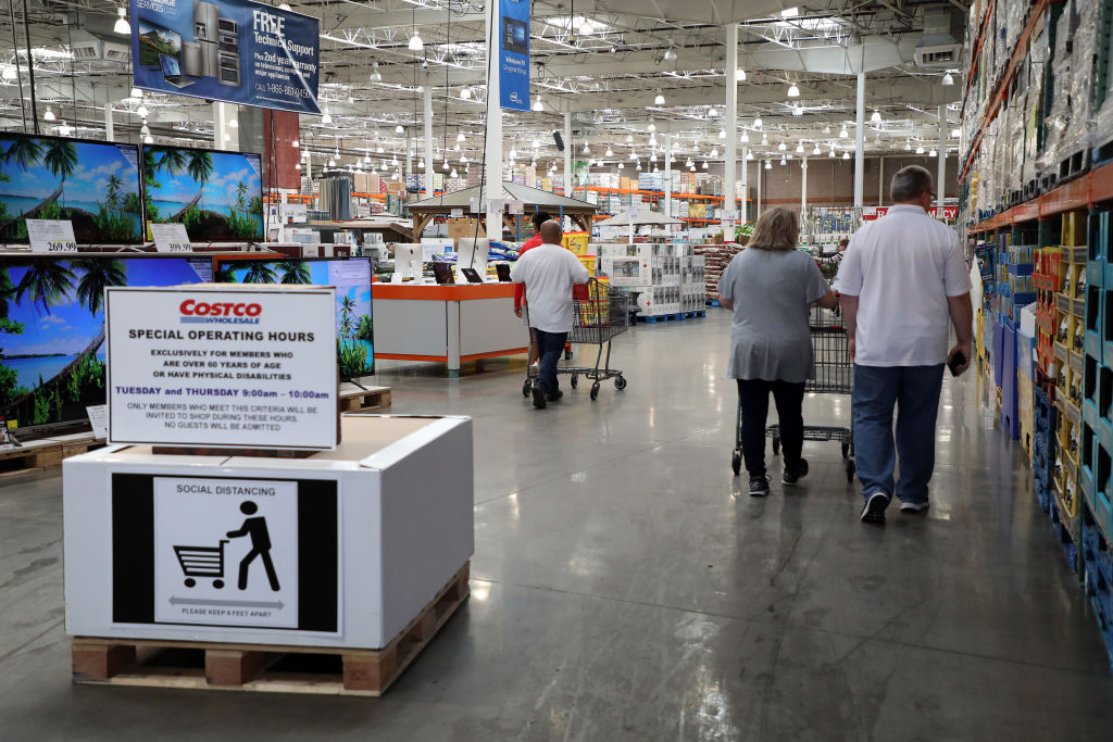 Costco Announces Special Hours For Members 60 And Older Kron4