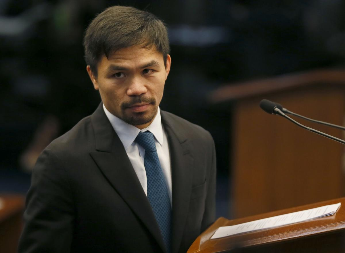 Pacquiao, <b> Manny Pacquiao says he &#8216;regrets entering politics&#8217; which doesn&#8217;t make sense </b>